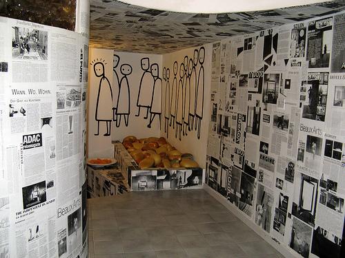 Hotel del arte contempor neo y social hoteles originales - Paredes decoradas con cuadros ...