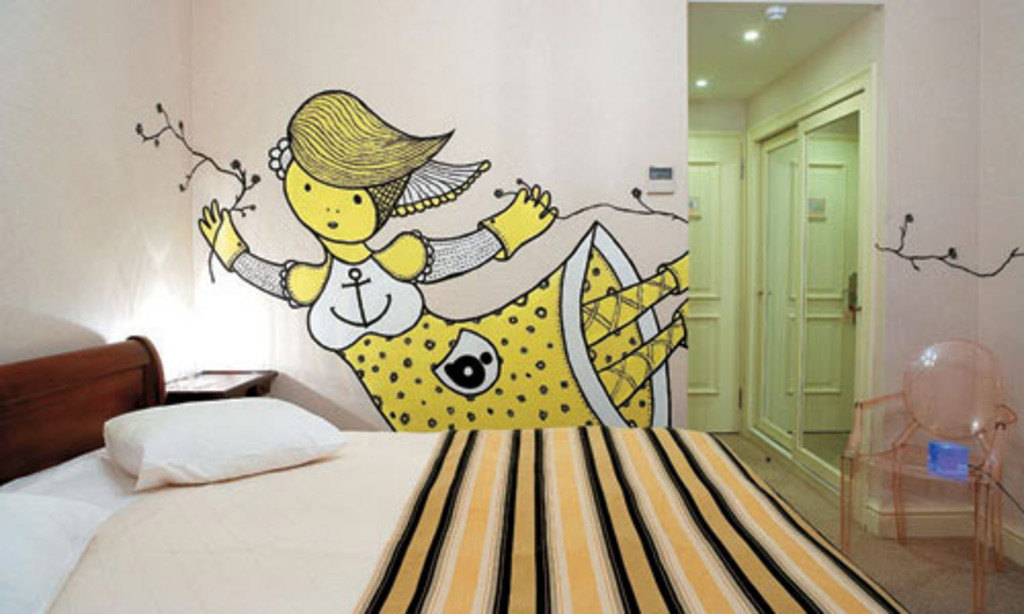 Habitaciones curiosas hoteles originales part 2 - Habitaciones con graffitis ...