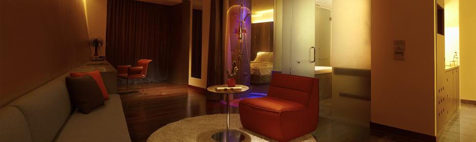 Hotel lit bangkok luces de colores y terrazas hoteles - Habitaciones con luces ...