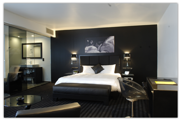 Hotel be manos suites blancas y negras y con un spa de piedra hoteles originales - Habitaciones blancas y negras ...