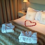 glenburgie room awaiting honeymoon couple