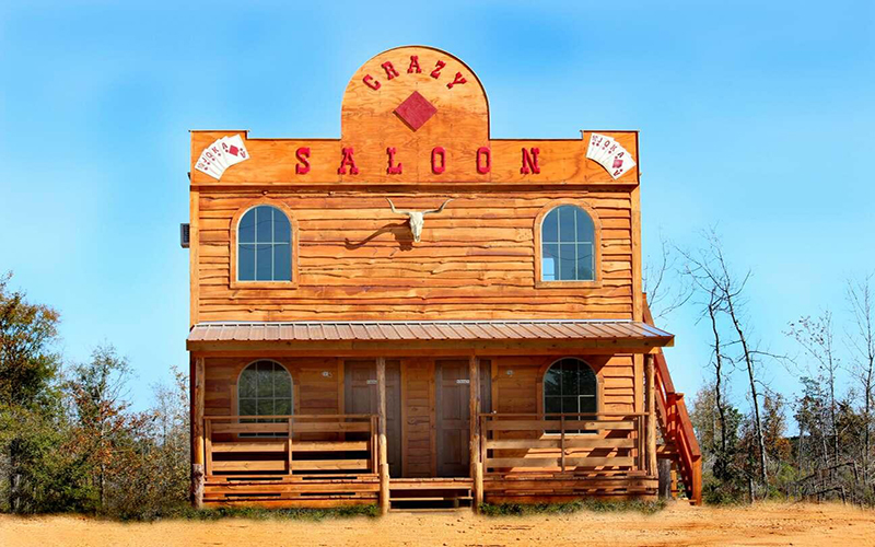 Diamond old west cabins caba as de los vaqueros y del for Casa decoracion zona oeste