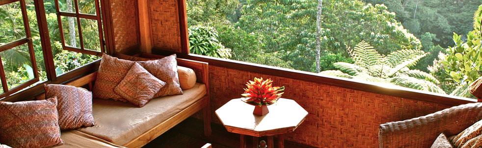 Sarinbuana eco lodge bungalows ecol gicas en la jungla for Bungalows dentro del mar