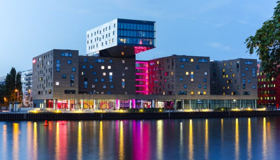 Un hotel al ritmo de la m sica en berl n hoteles originales for Hoteles diseno berlin