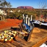 Cóctel con vistas al Uluru