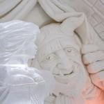 Esculturas del hotel